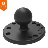 "RAM 63mm Round Base 1"" Ball"